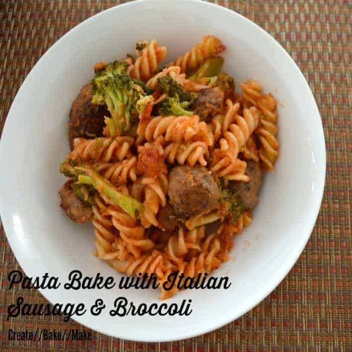 Italian Sausage and Broccoli Pasta Bake – Fabulous Foodie Fridays #26