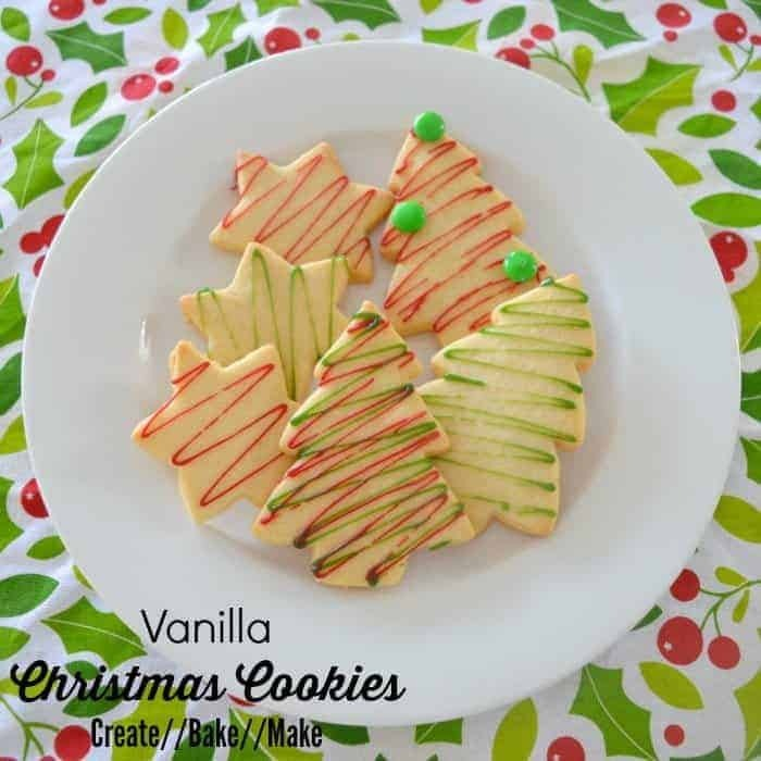 Vanilla Christmas Cookies