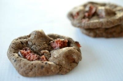 Cherry Ripe Biscuits