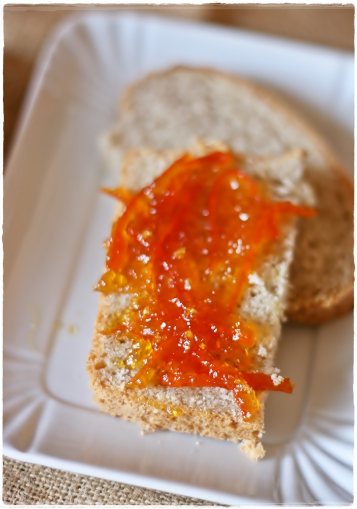 Marmellata di arance amare e fiori di sambuco – Bitter orange and elderflower marmalade