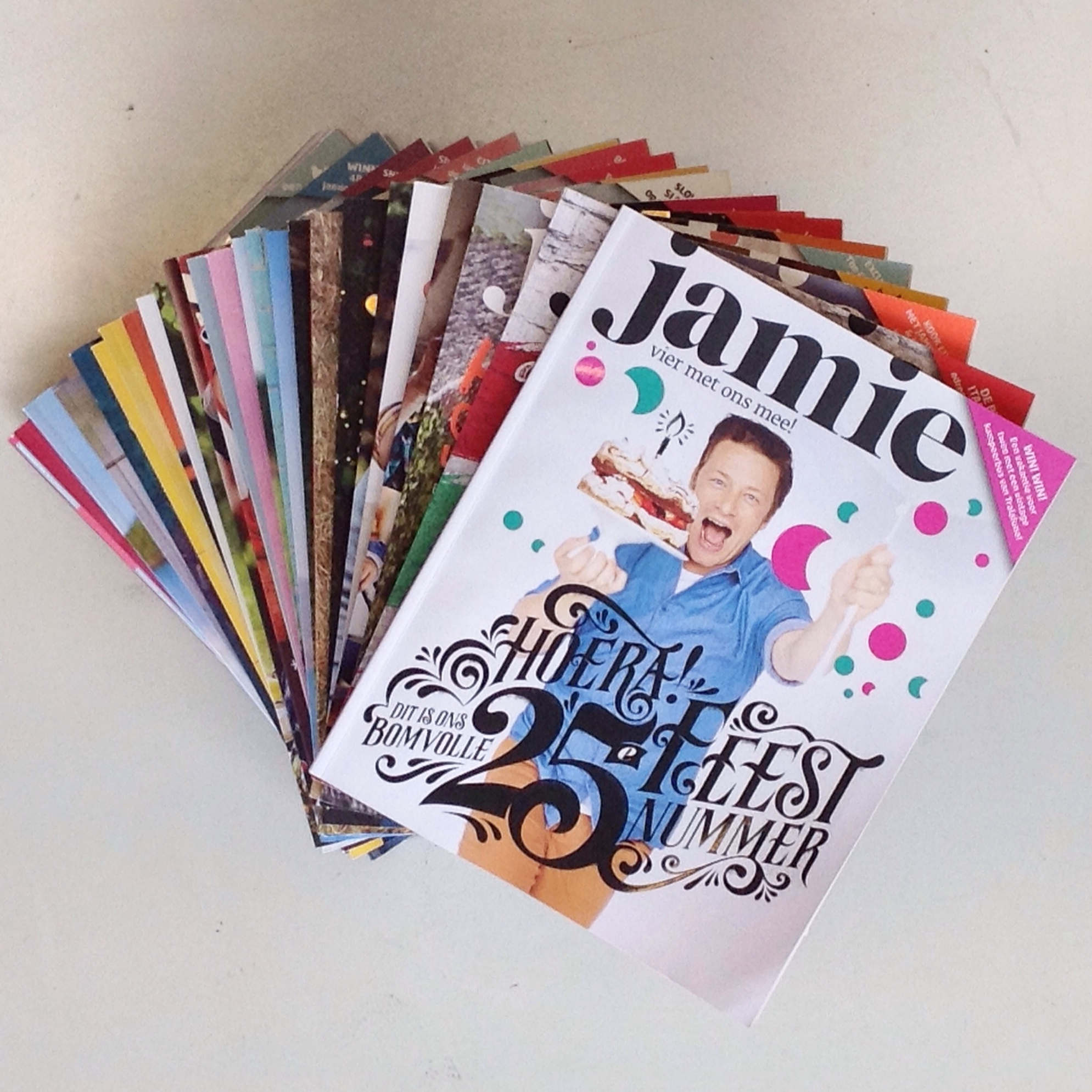 Win! Jamie Magazine celebrates its 25th issue
