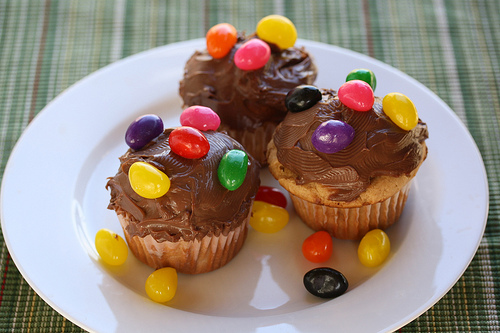 Peanut Butter Cupcakes Recipe with PHILADELPHIA INDULGENCE