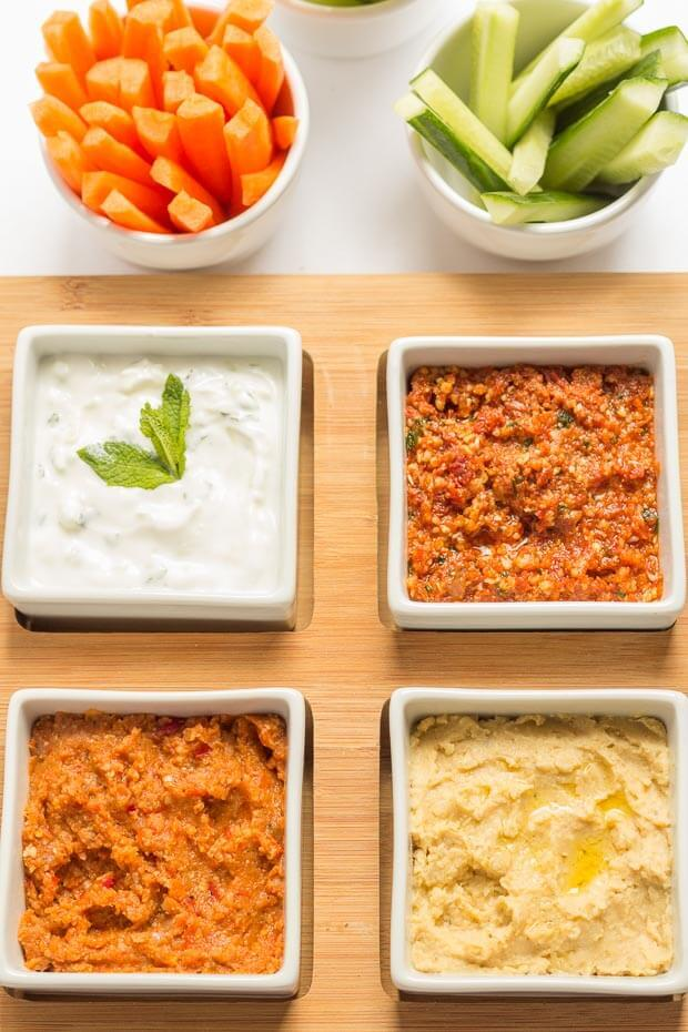 4 Easy Healthy Dips To Make
