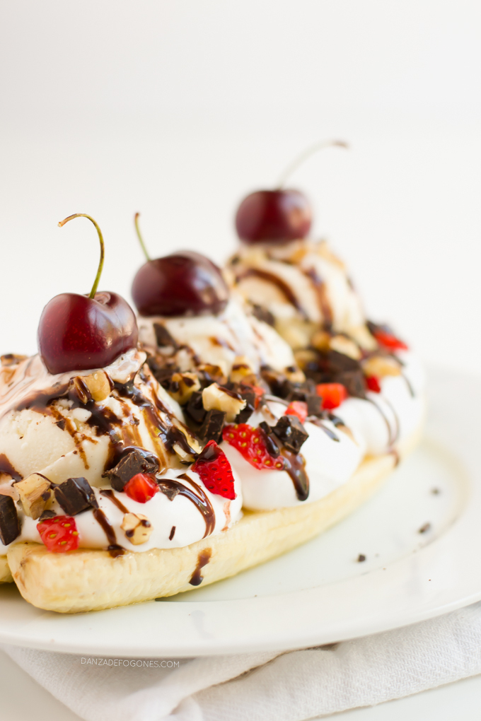 Banana Split Vegano