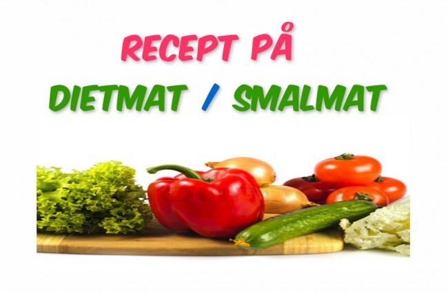 - Recept På Dietmat / Smalmat