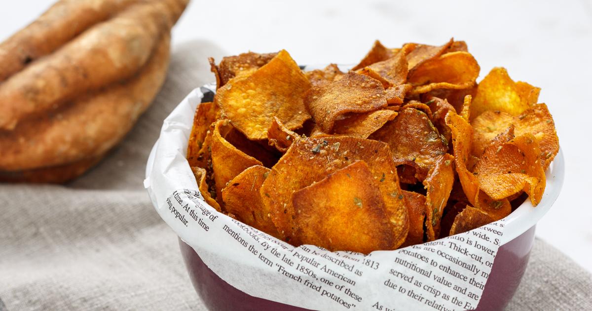 Resultado de imagen de albondigas con chips de boniato