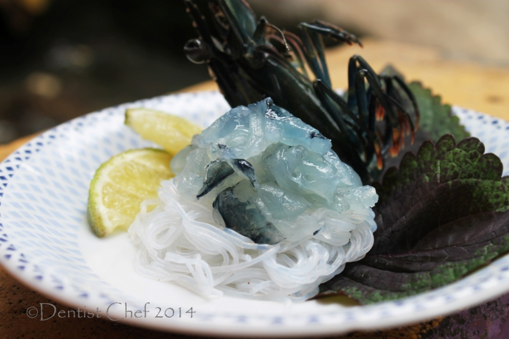 Recipe Ebi Sashimi (Japanese Sliced Raw Live Shrimp or Prawn, Served with Soy Sauce Dip)