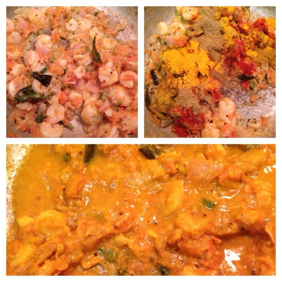 Curried Shrimp Couscous