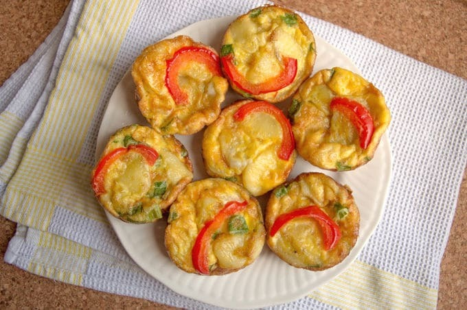 Spanish Omelette Muffins (low FODMAP)