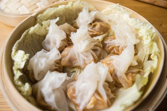 Chinese Steamed Shrimp Dumplings (gluten free)