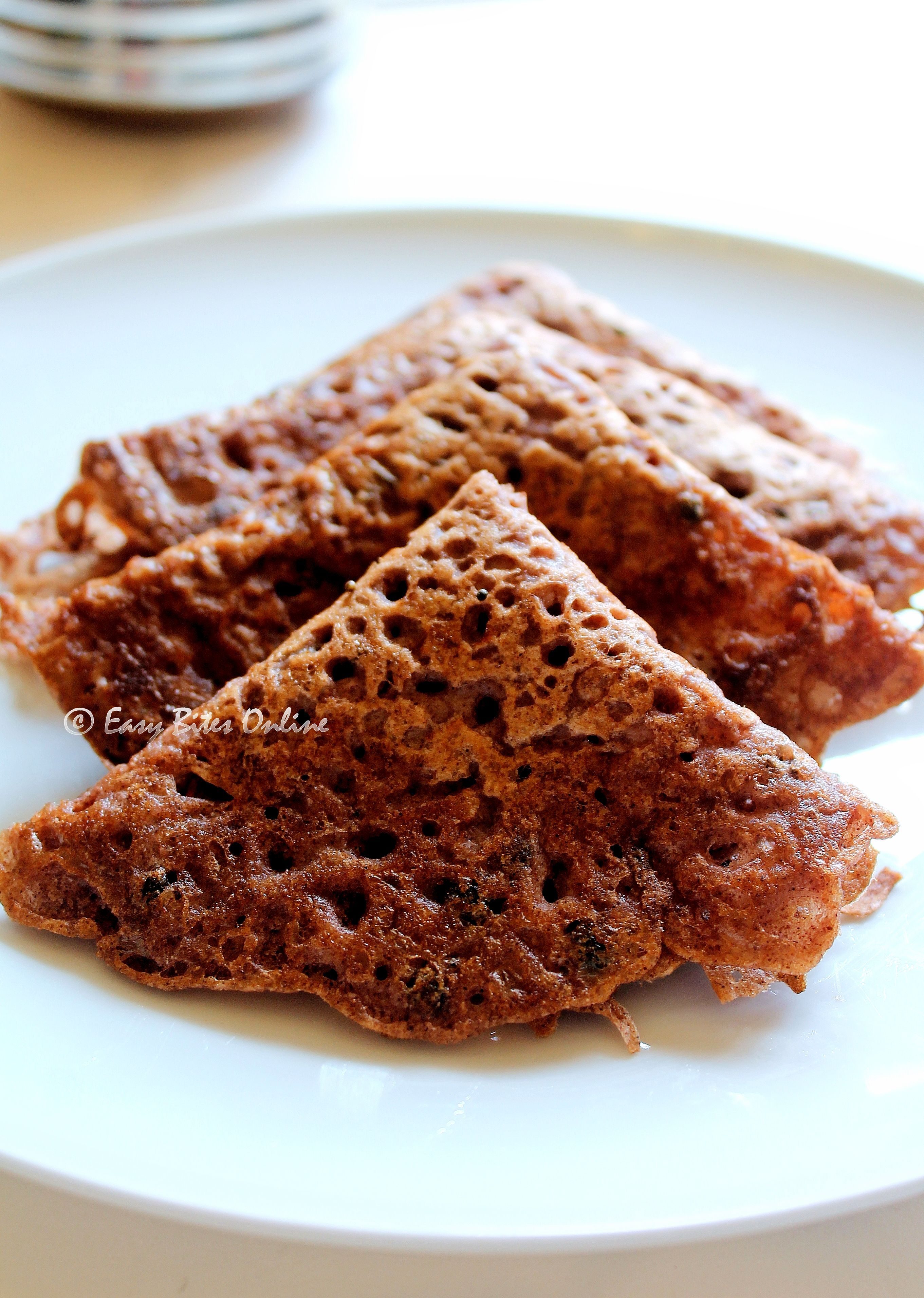 How To Make Instant Ragi Red Rice Rava Dosa