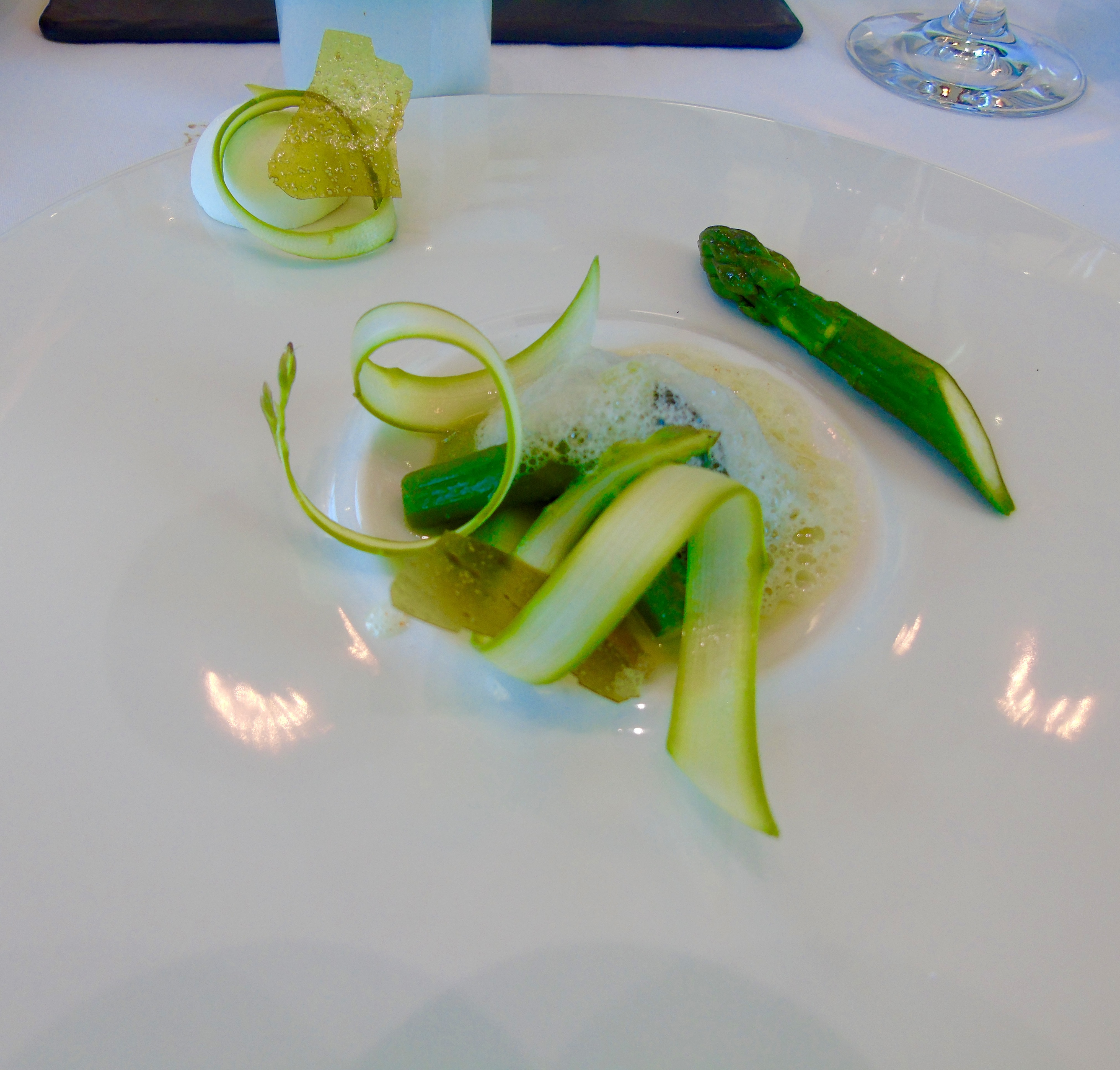 Wonderfully exciting food at The Restaurant at Waterkloof