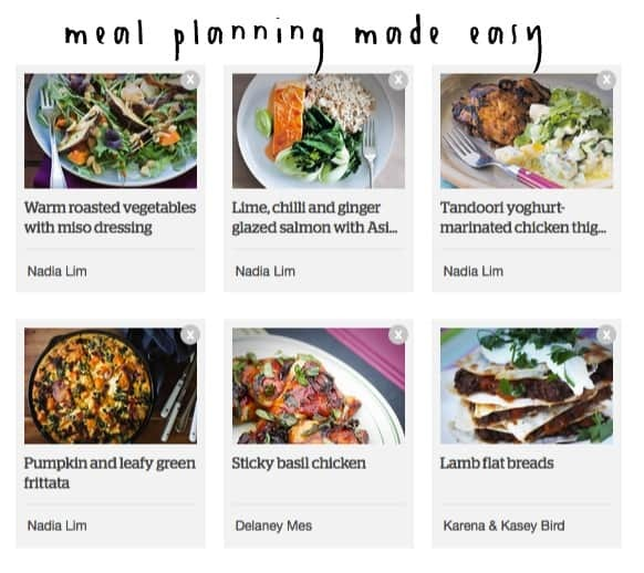 Meal planning made easy with Bite
