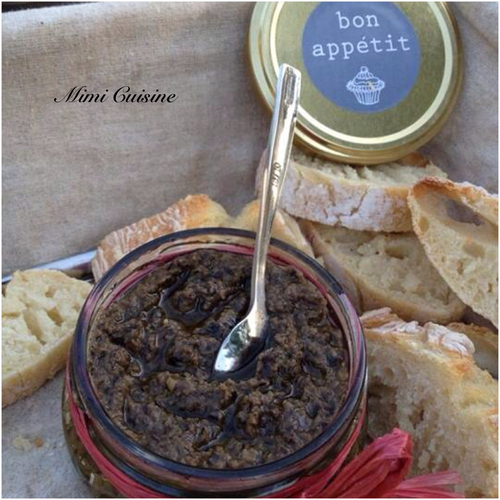Tapenade olives noires #Thermomix