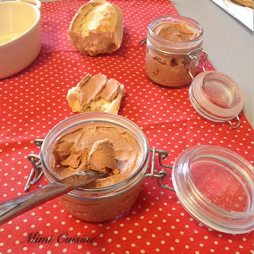 Mousse de foie by Thermomix