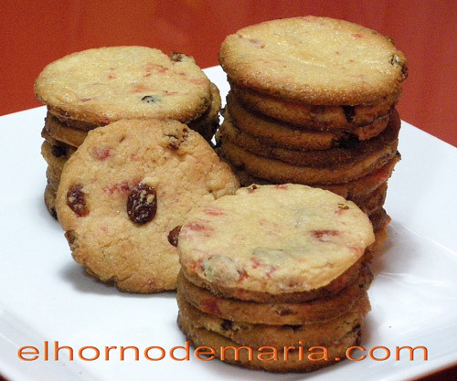 Galletas de Frutas al Ron