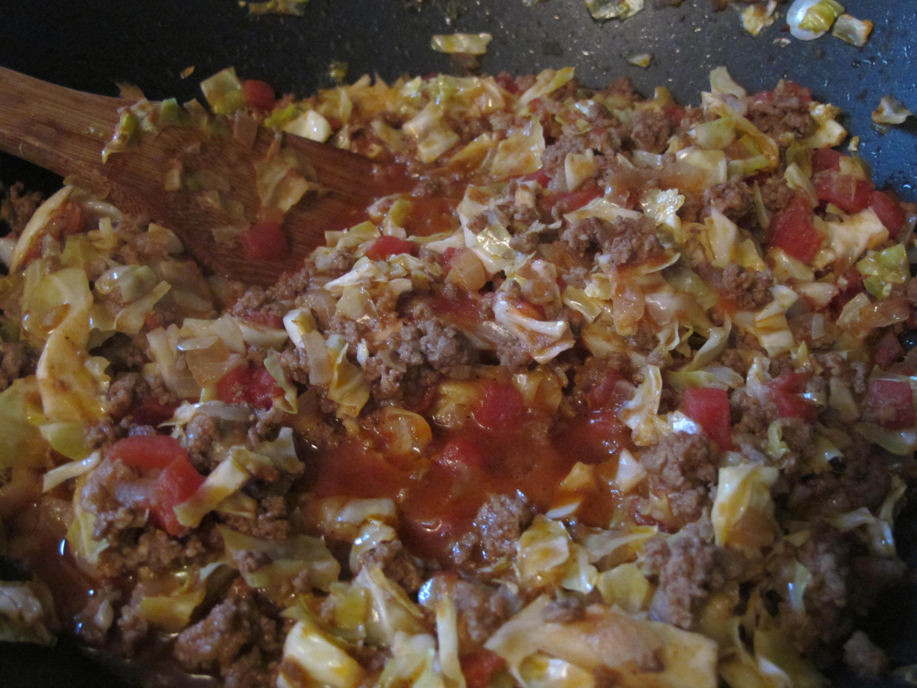 unrolled cabbage rolls