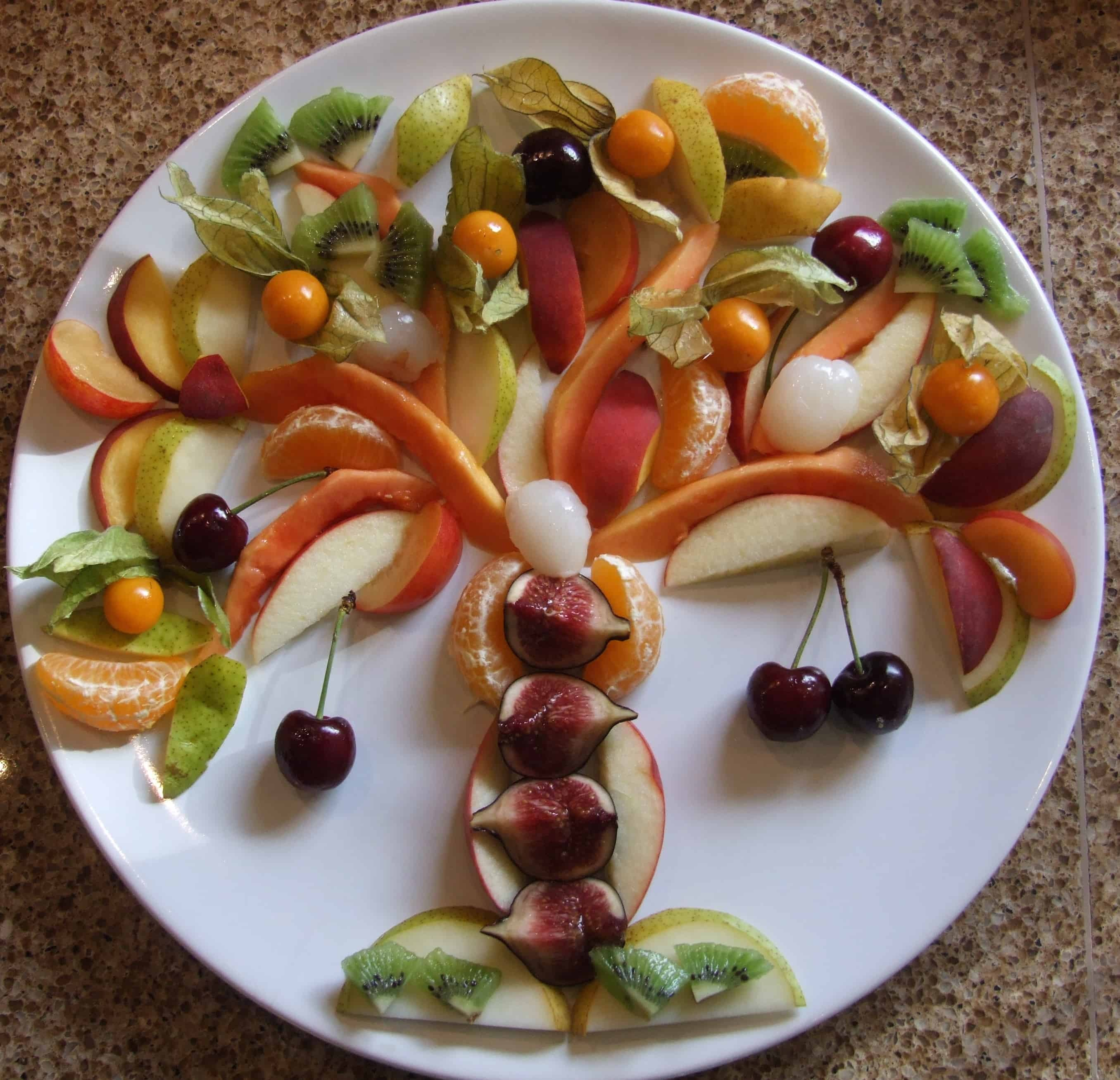 Tu B'Shevat fruit platter – celebrate New Year for Trees!
