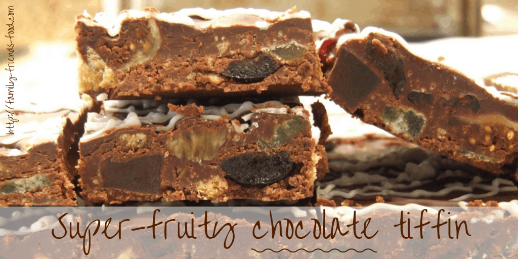 Super-fruity chocolate tiffin – a Mothers' Day treat