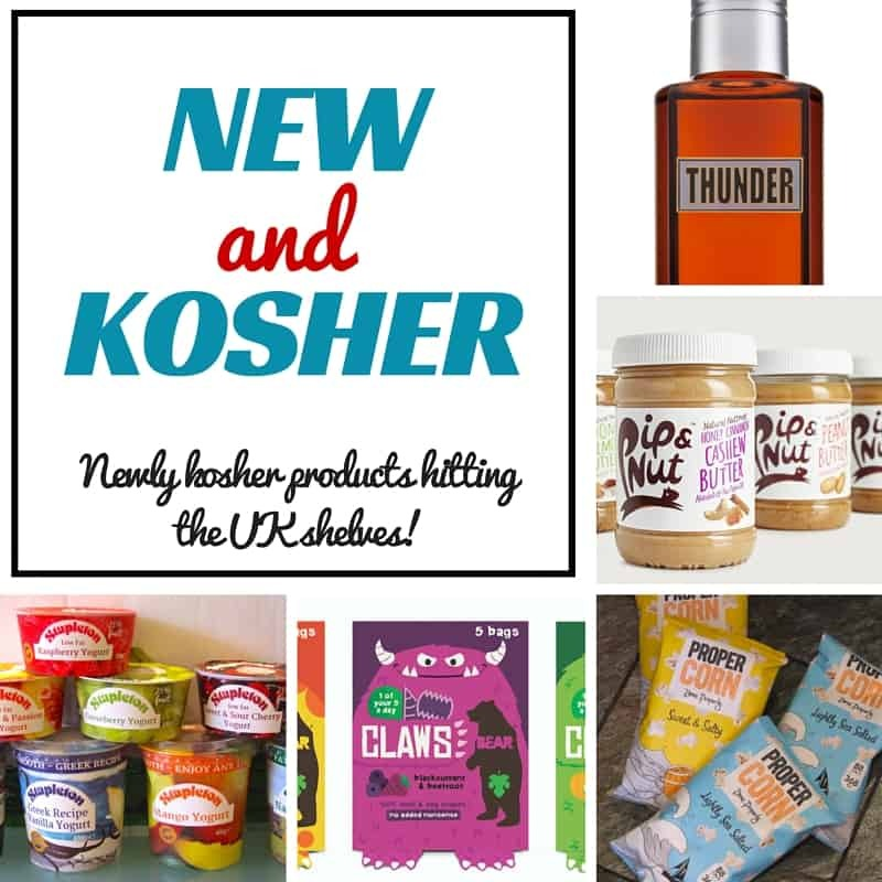 New and Kosher – the best new kosher products in the UK