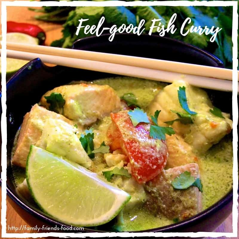 Feel-good fish curry – comfort food with Asian flavours