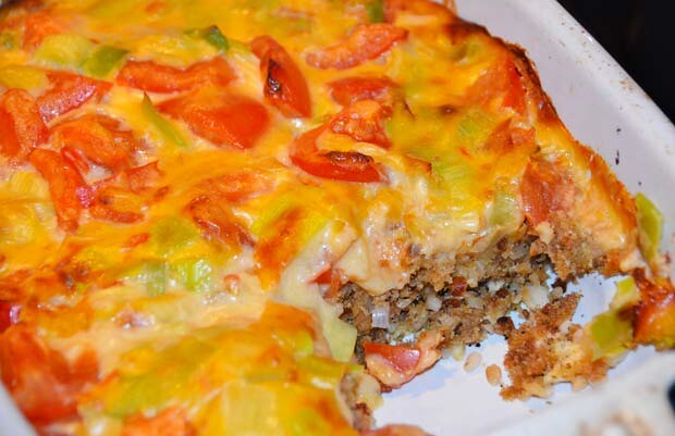 cranks cheese and lentil bake
