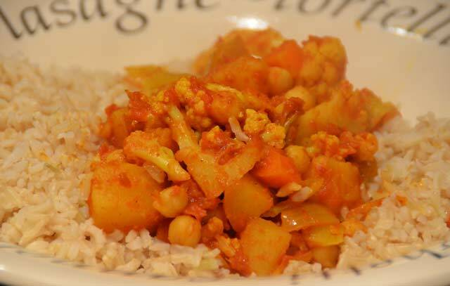 jamie oliver sweet potato curry cauliflower rice