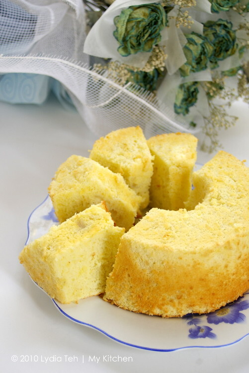 Durian Chiffon Cake [Durian Festival Is On!]