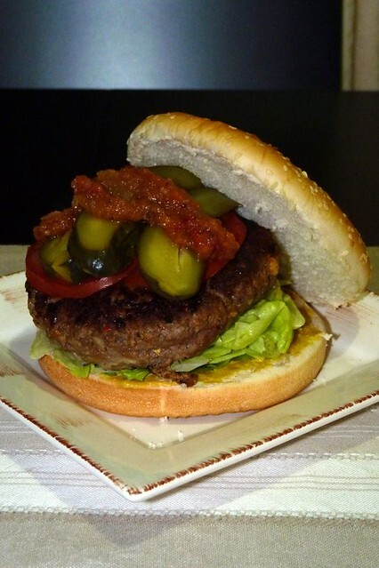 September 2010 - Homestyle Beef Burger