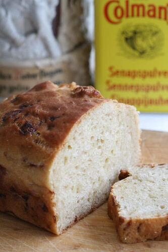 Beer, mustard and cheese bread recipe, inspired by Welsh Rarebit