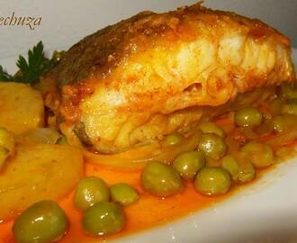Recetas de cocochas de bacalao guisadas con patatas mytaste - Bacalao guisado con patatas ...
