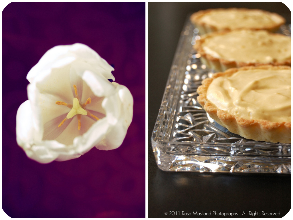 MAPLE MOUSSE & MAHLAB TARTLETS - DARING BAKERS