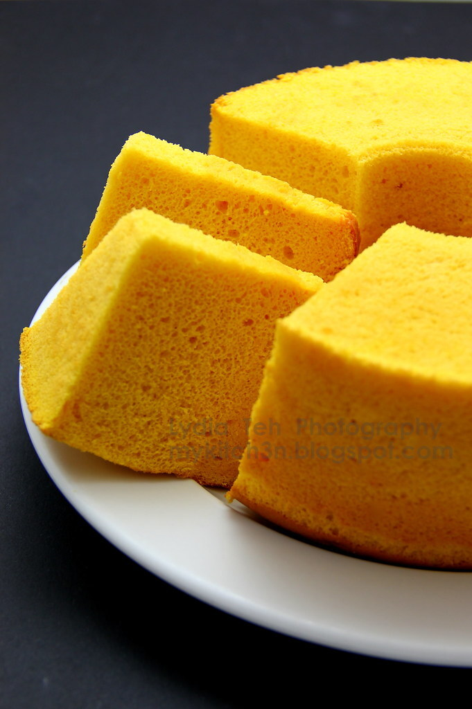 Pumpkin Chiffon Cake [From Soup to Cake]