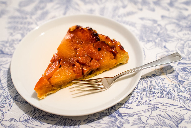 tarte tatin peer walnoot