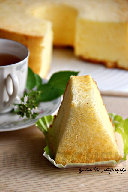 Cheddar Chiffon Cake [Don't You Like Light and Fluffy Cake?]