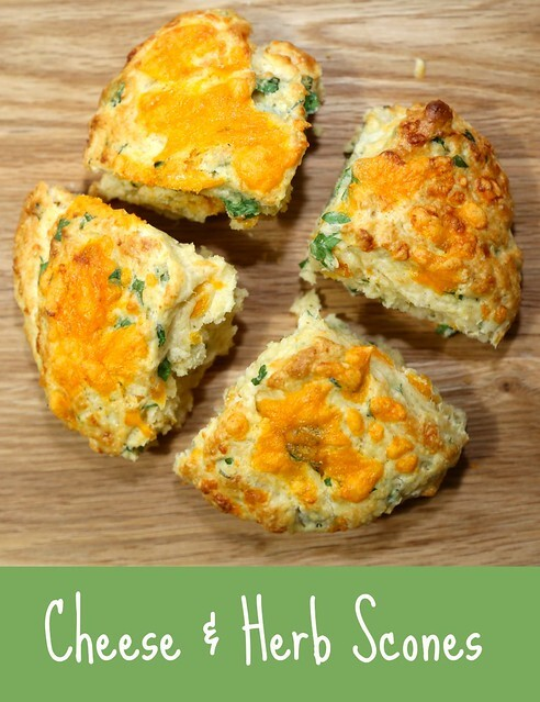 Cheese & Herb Scones