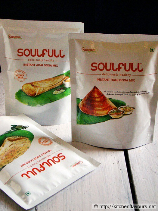 {Product Review} Soulfull Instant Dosa Mixes
