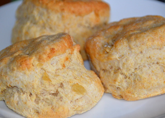 Scones With Ginger