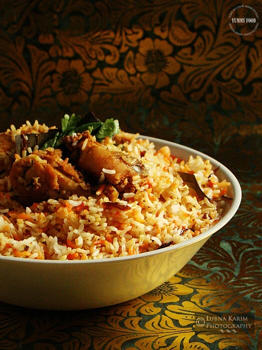 Chicken Dum Biryani - Hyderabadi Style & Winner Announcement