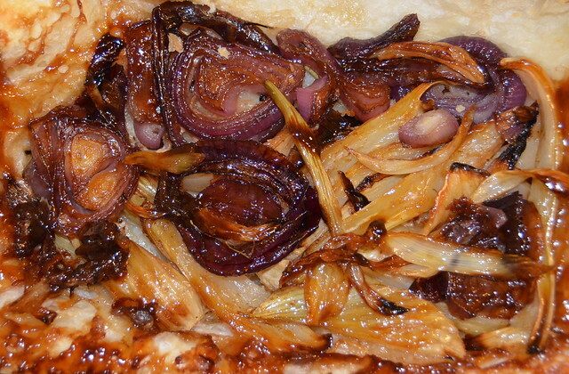 Onion And Fennel Tarte Tatin