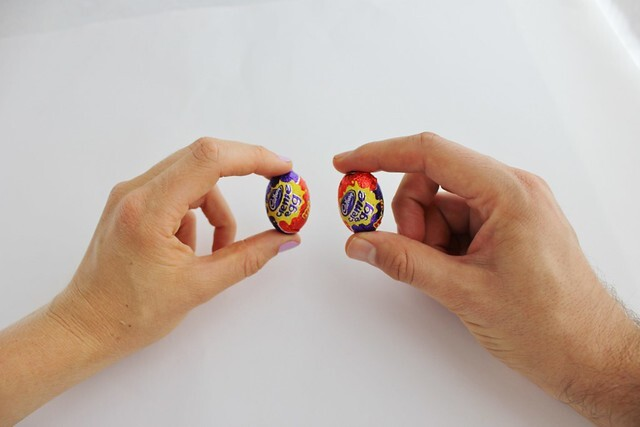 Homemade Hollow Easter Eggs