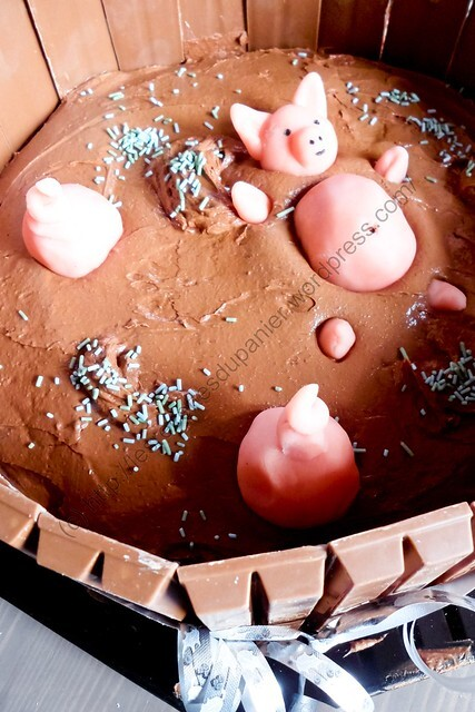 Mare aux cochons (Gâteau Pur Chocolat) / Pig Pond (Pure Chocolate Cake)