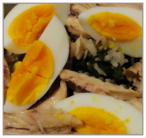Mackerel and Spinach Kedgeree
