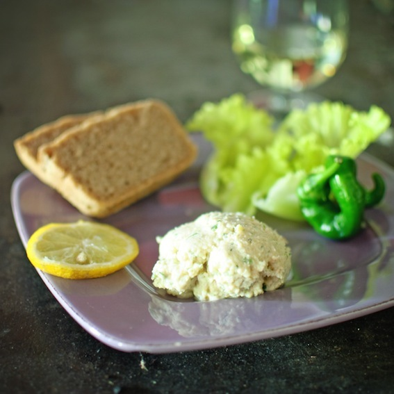 Easy crab pâté and independence for bairns