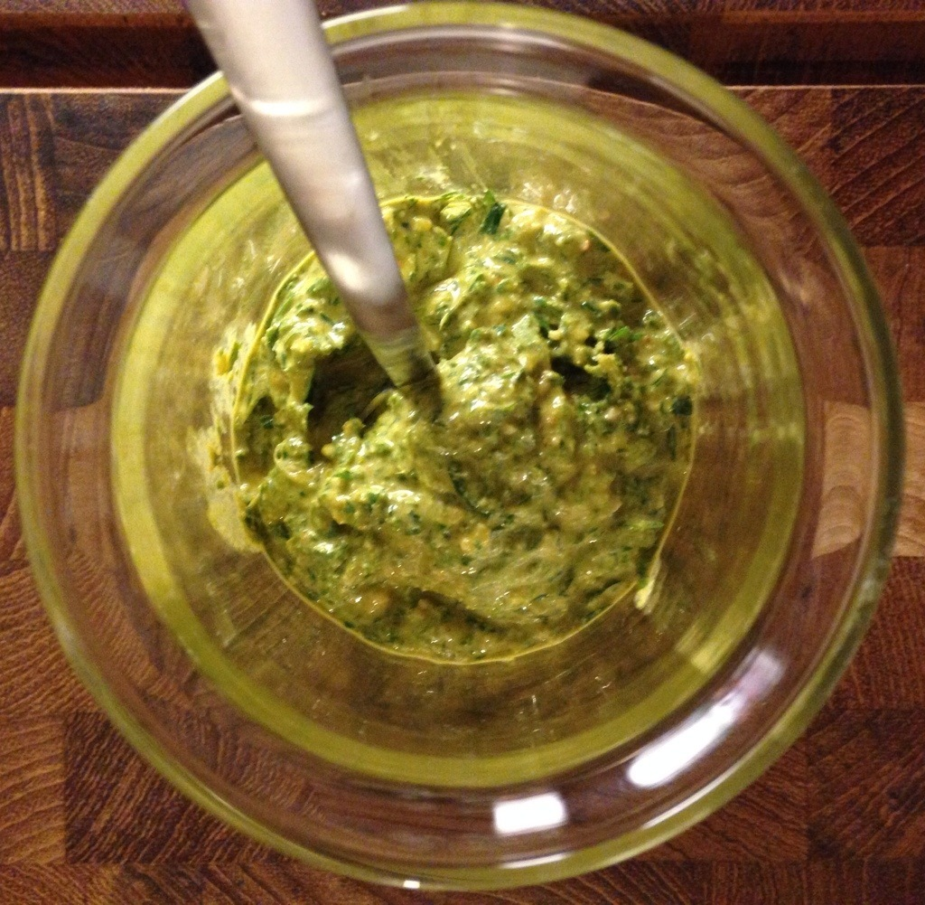 Spicy pesto