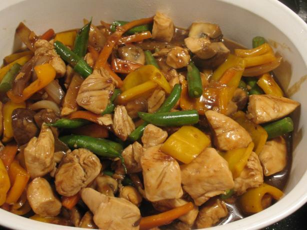 Hoisin Chicken and Broccoli Stir-Fry