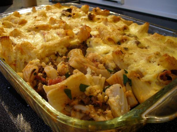 Meat and Macaroni Pie - Pastitsio