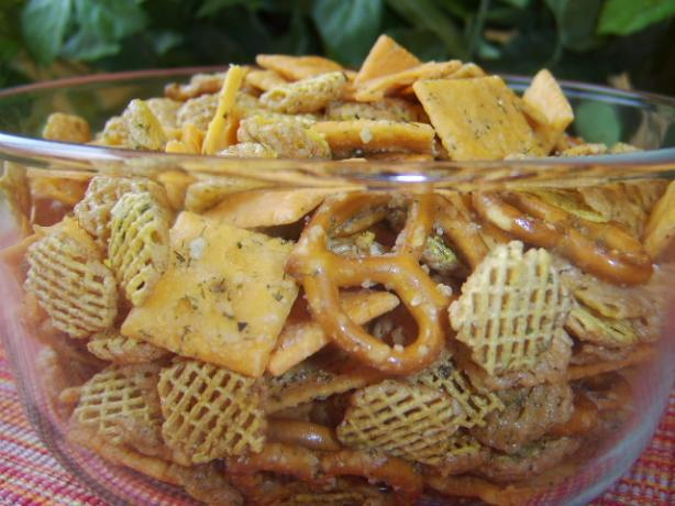 dill ranch chex mix