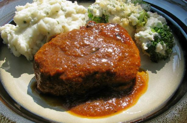 Pork Chops in Orange Chile Sauce