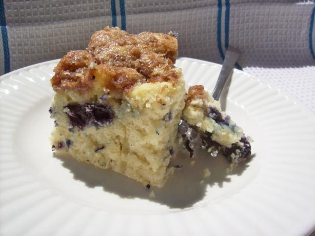 Streusel Blueberry Coffee Cake